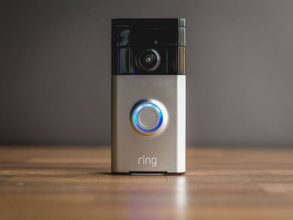 Ring Wi-Fi Enabled Video Doorbell - smart home devices