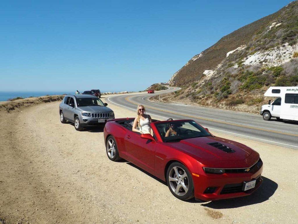 Test drive a convertible sportscar-travel bucket list