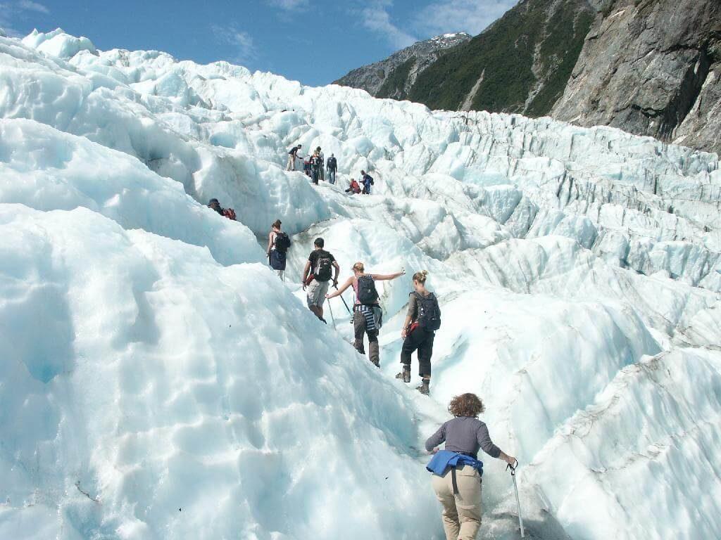 Walk on a glacier-travel bucket list