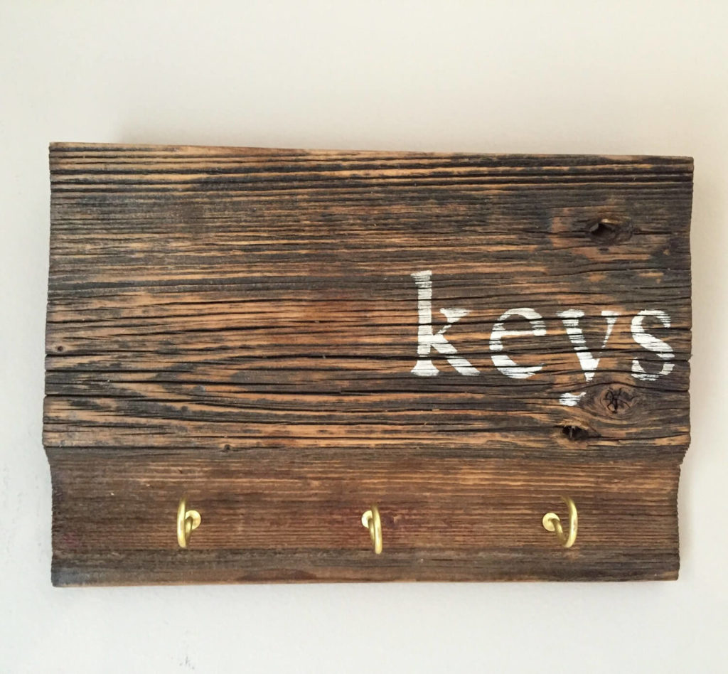 Key Wooden diy Key Holder