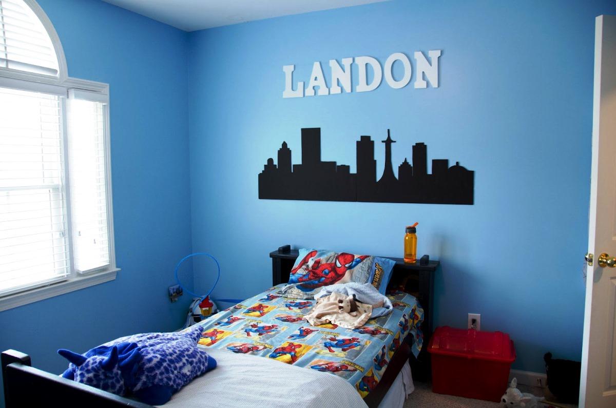 boys room blue