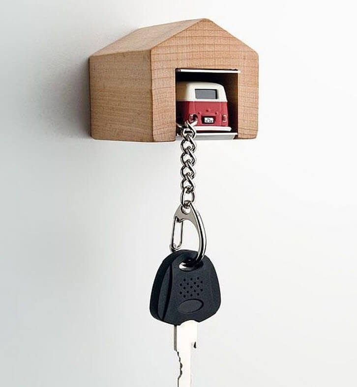 car garage diy Key Holder creative design