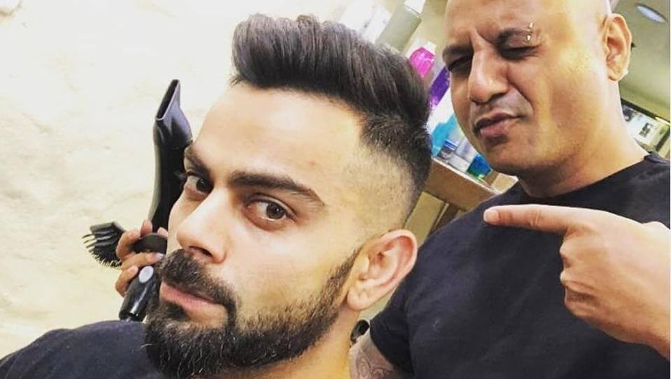virat kohli hairstyle 2018