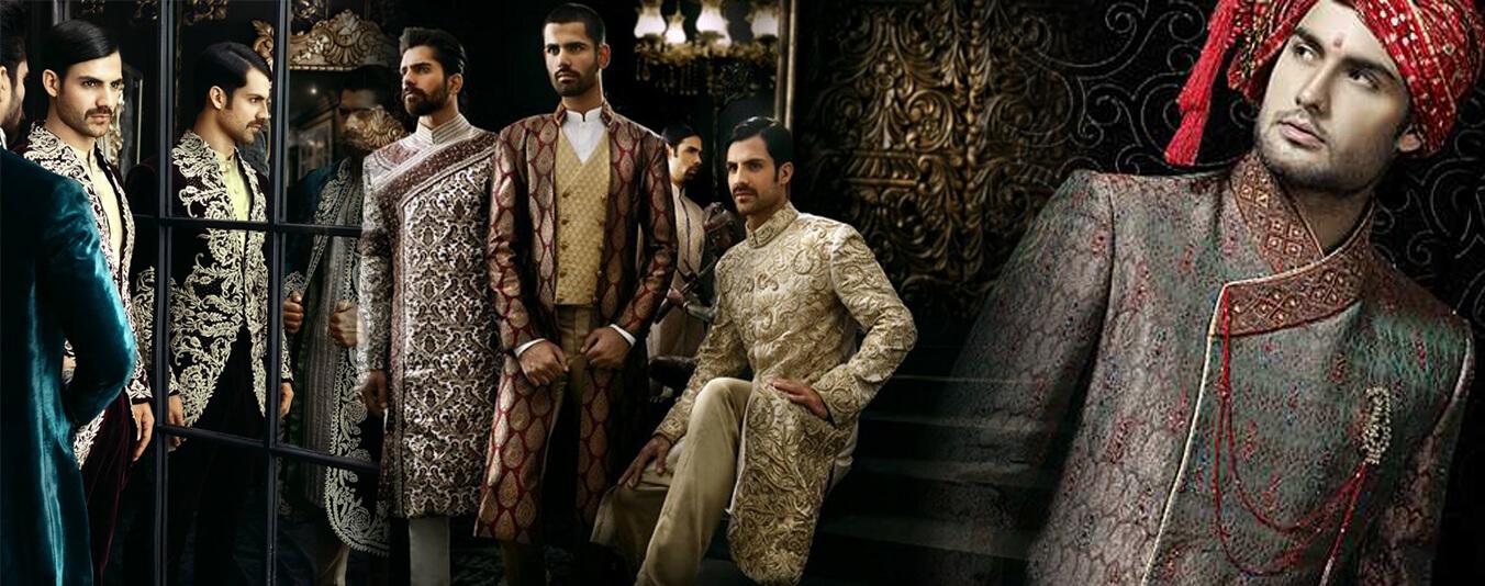 kurta-pajama-designer-suits-indo-western-dresses-for-men