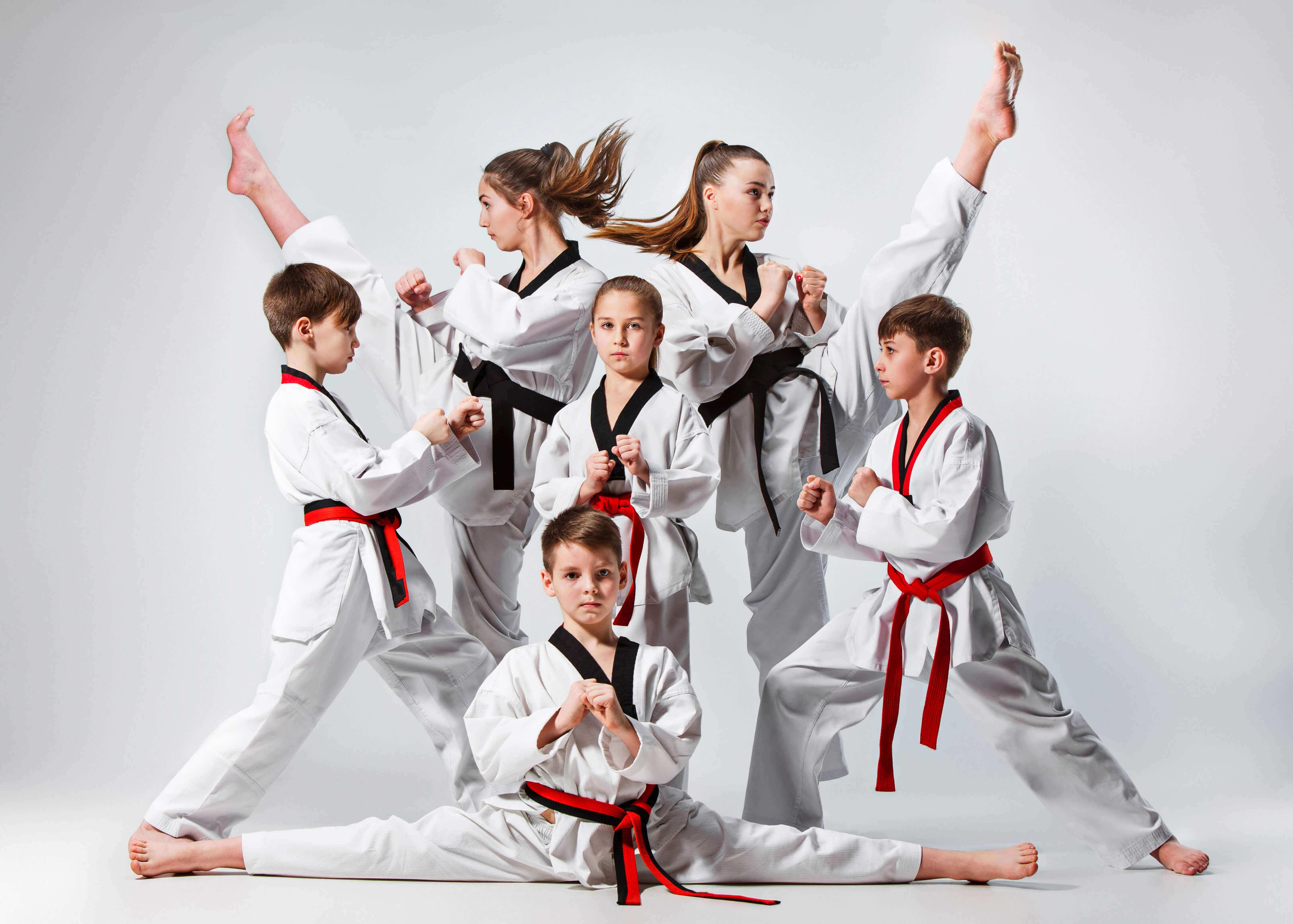 Five Martial Arts Self Defense Techniques
