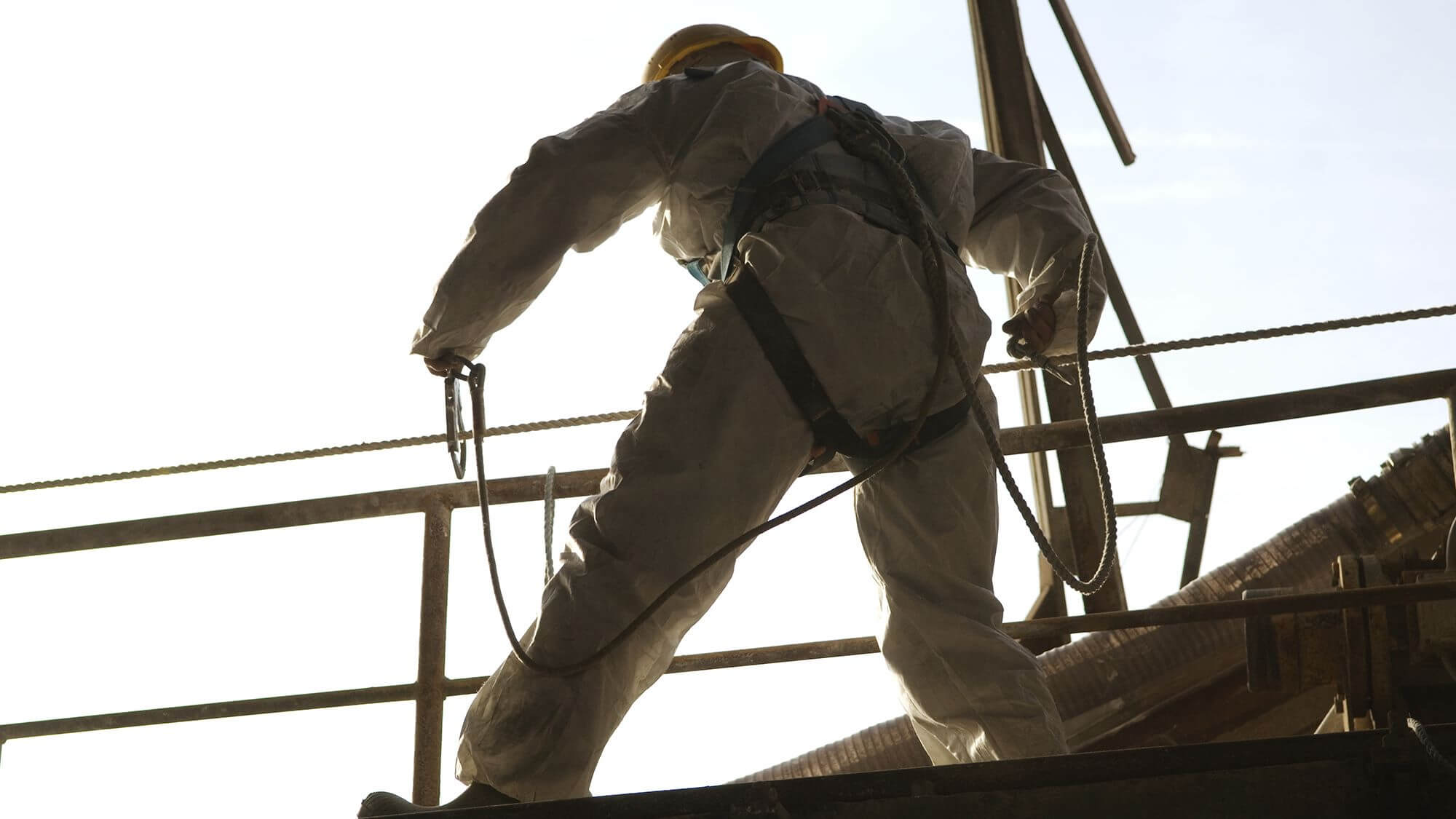 Industrial safe cleaning and maintenance