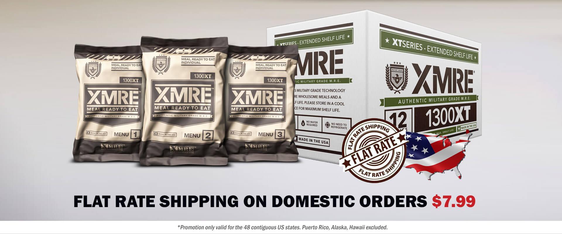 MRE Meals – Long Term Food Choices