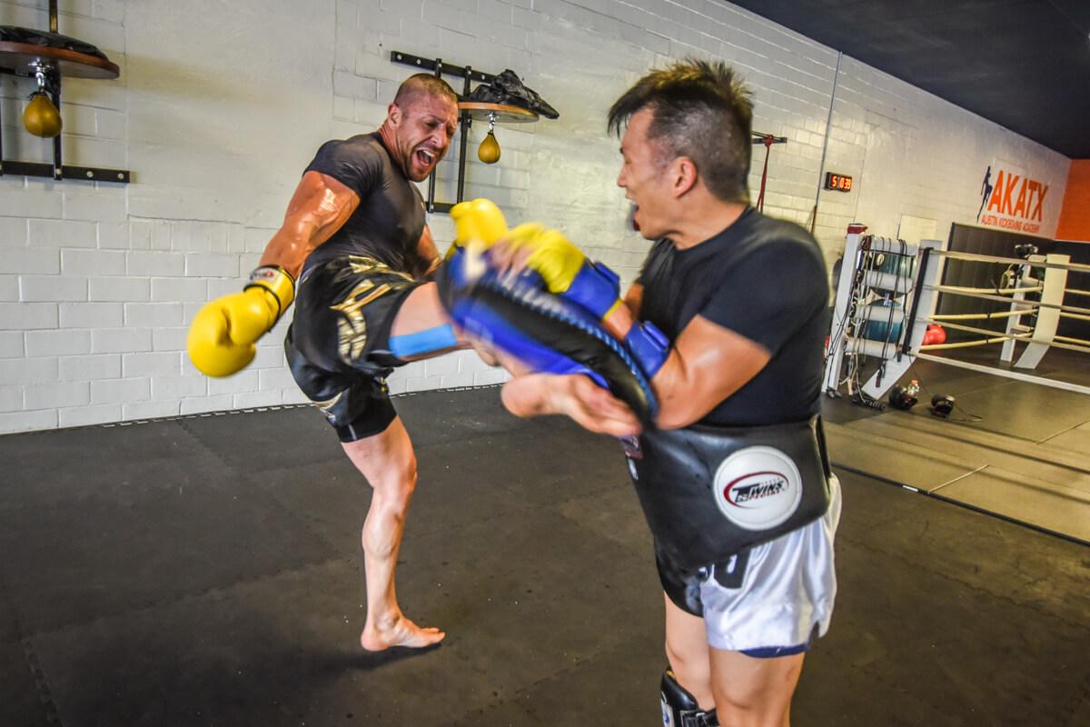 Muay Thai (Kick Boxing)-Martial Arts Self Defense Techniques
