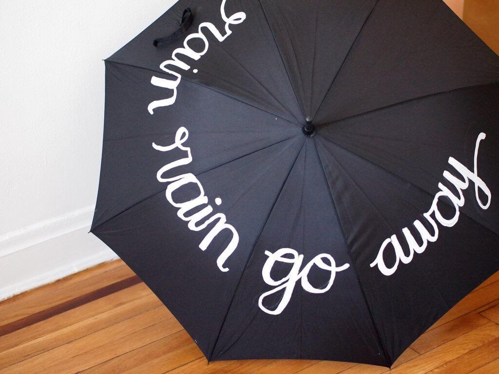 umbrella painting ideas
