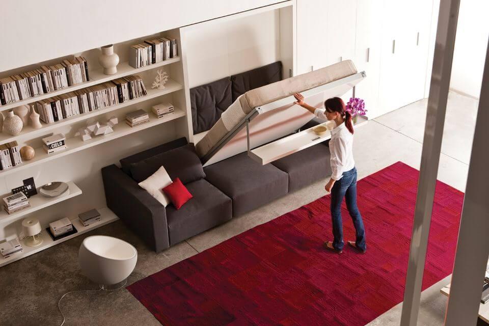 Natural wood floor