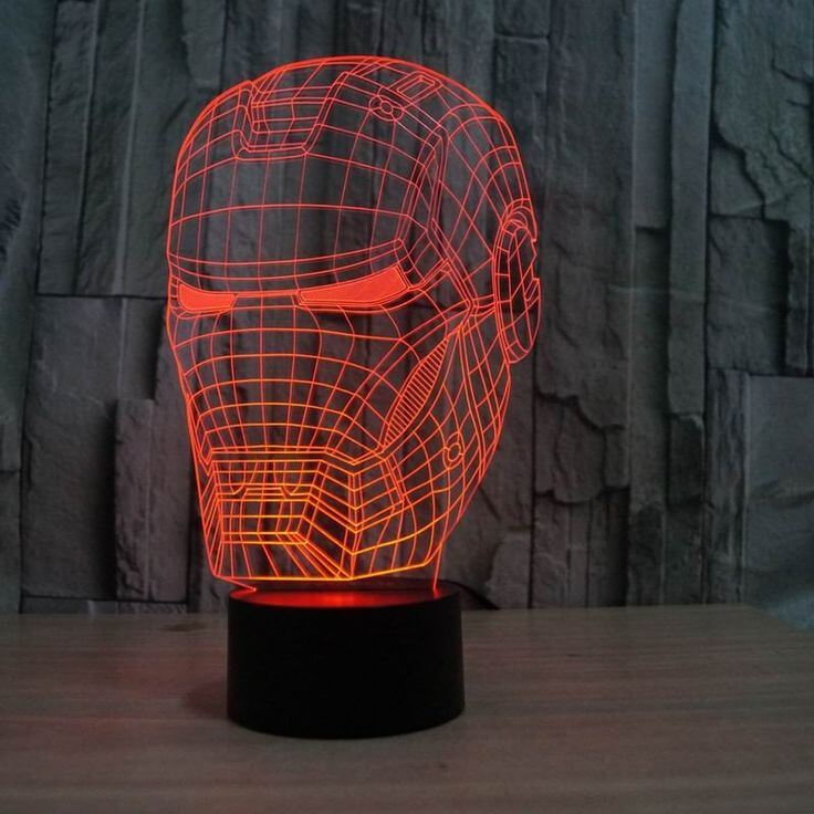 3d illusion lamp