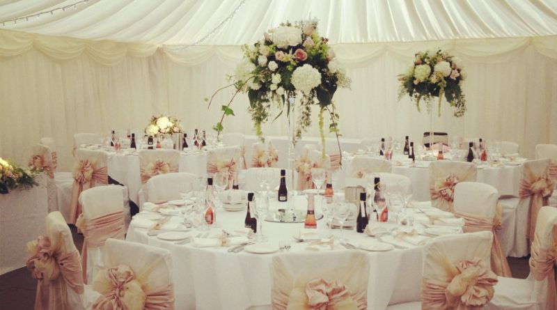 Tips For Furnishing A Wedding
