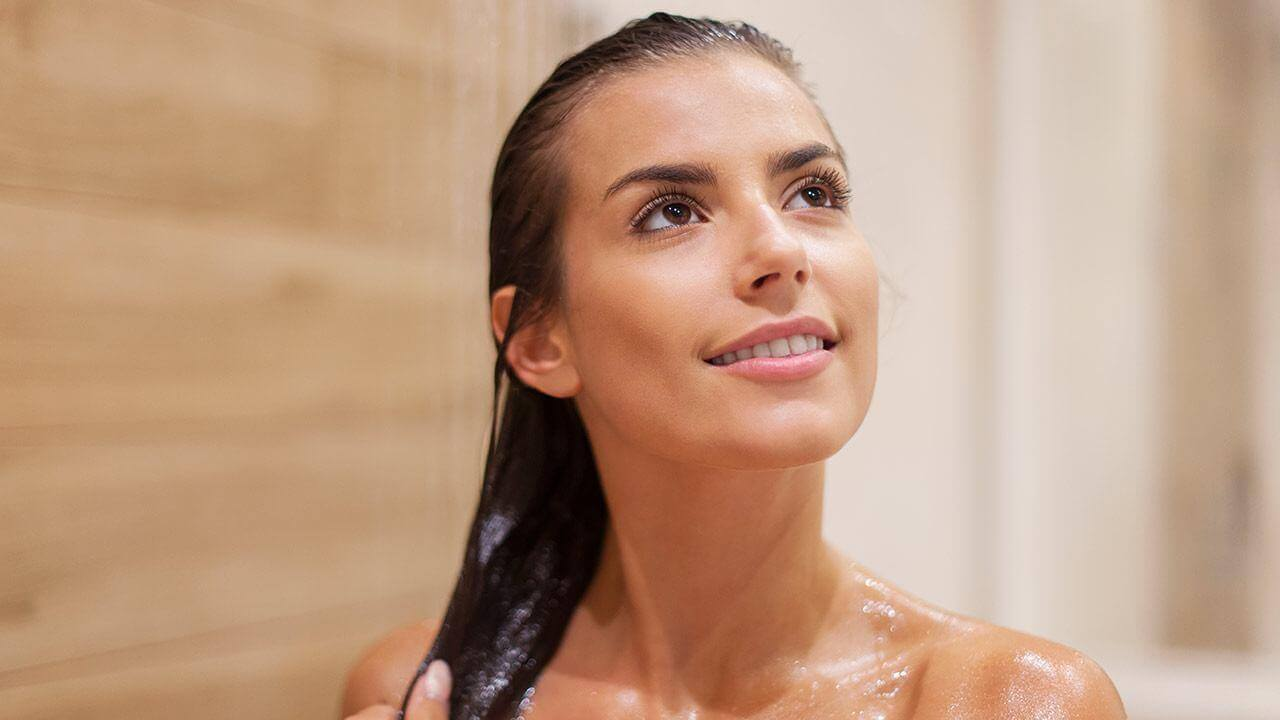 skin type wash your hair