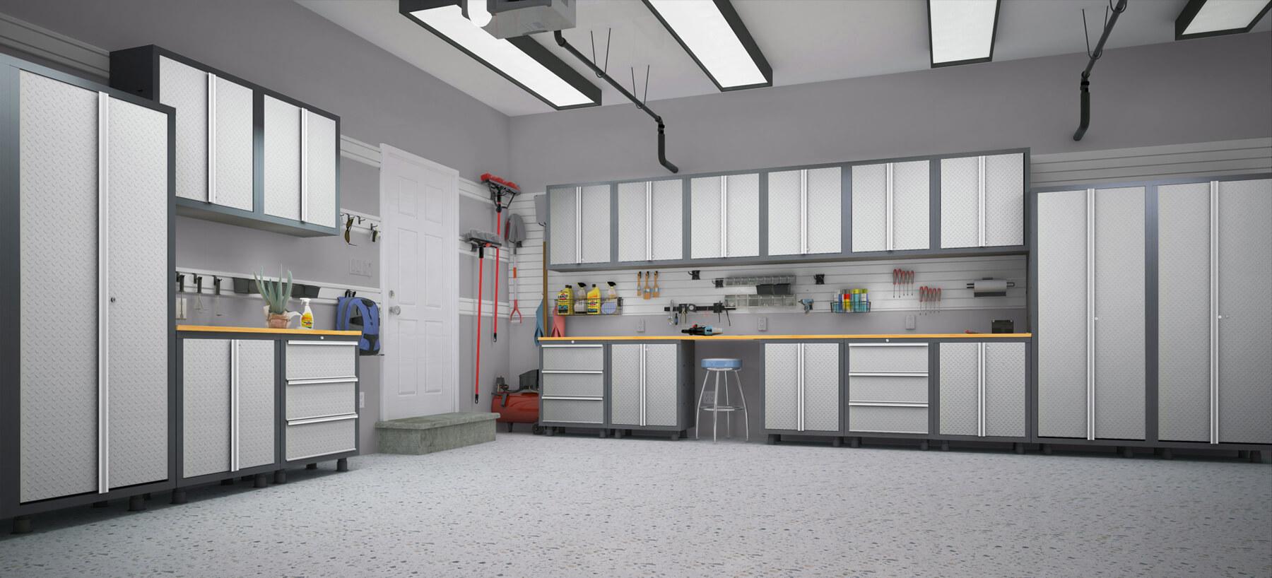 Cabinets Garage Makeover