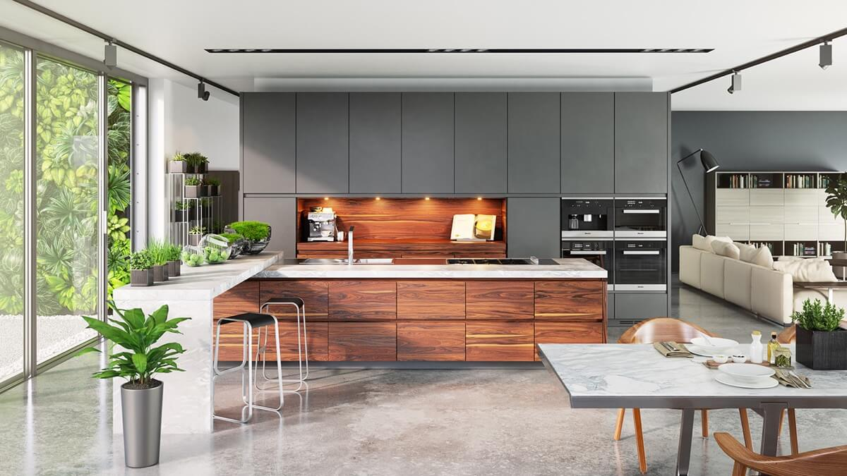 Kitchen Look Luxurious on a Budget 1