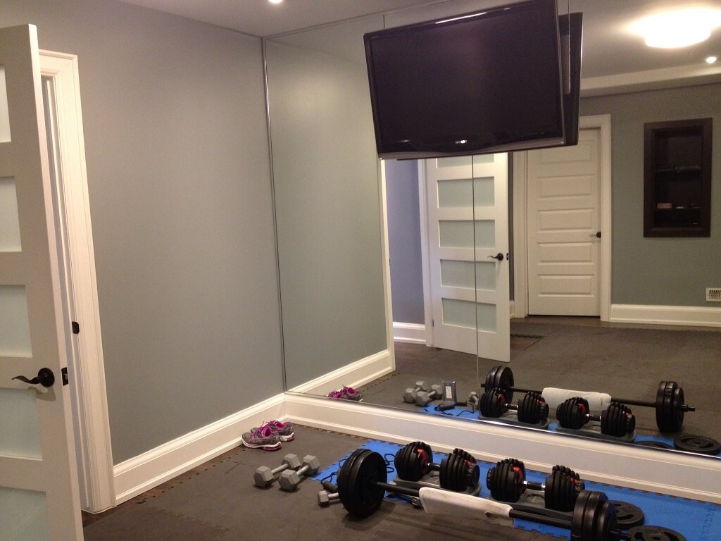 large mirror for gym