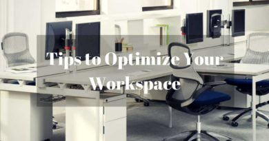 Tips on Organize workspace