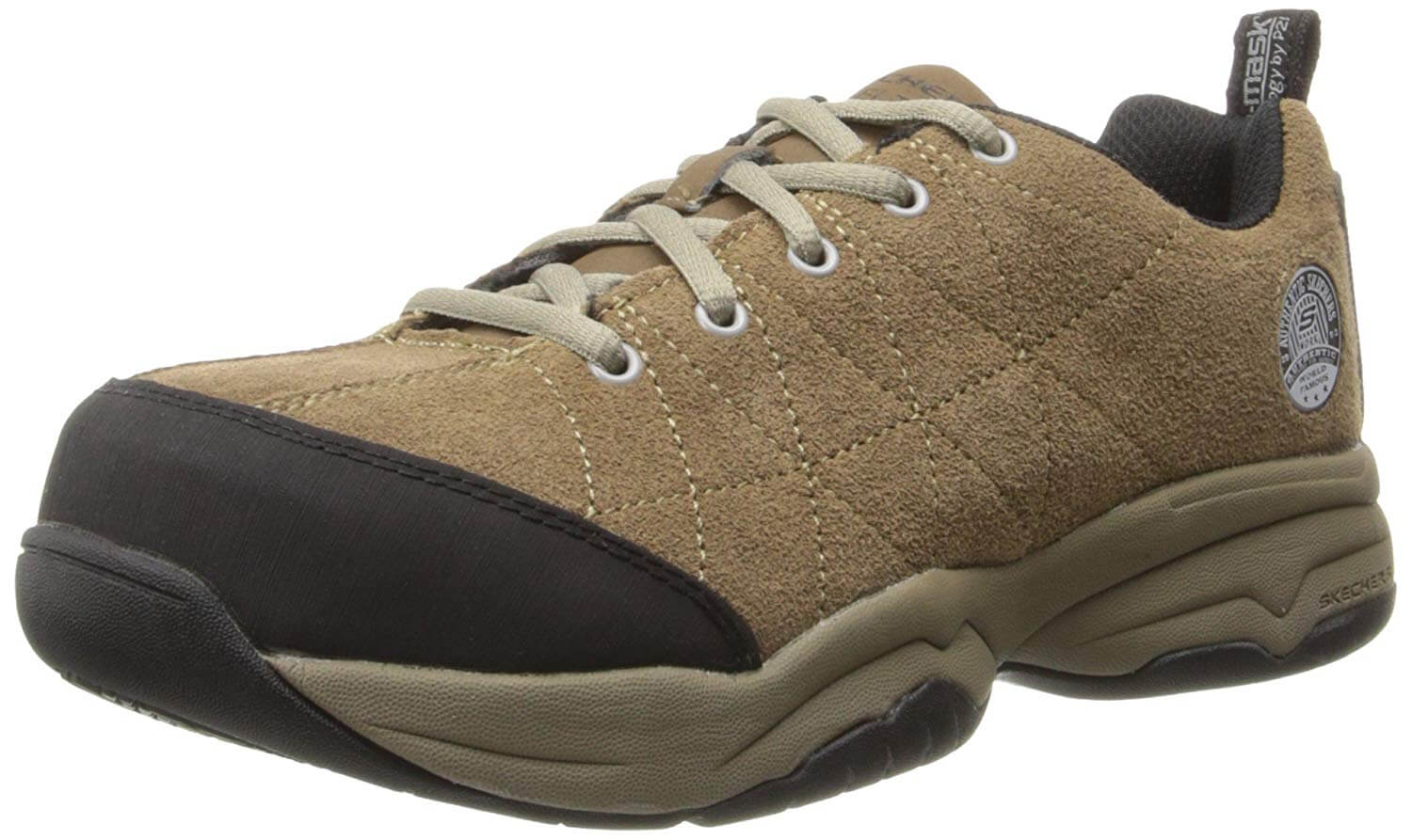 dafd0ff635b8 Other comfort features include a padded collar and tongue and soft fabric  shoe lining. Coming in black and white color and tested with the ASTM  F2412-05 ...