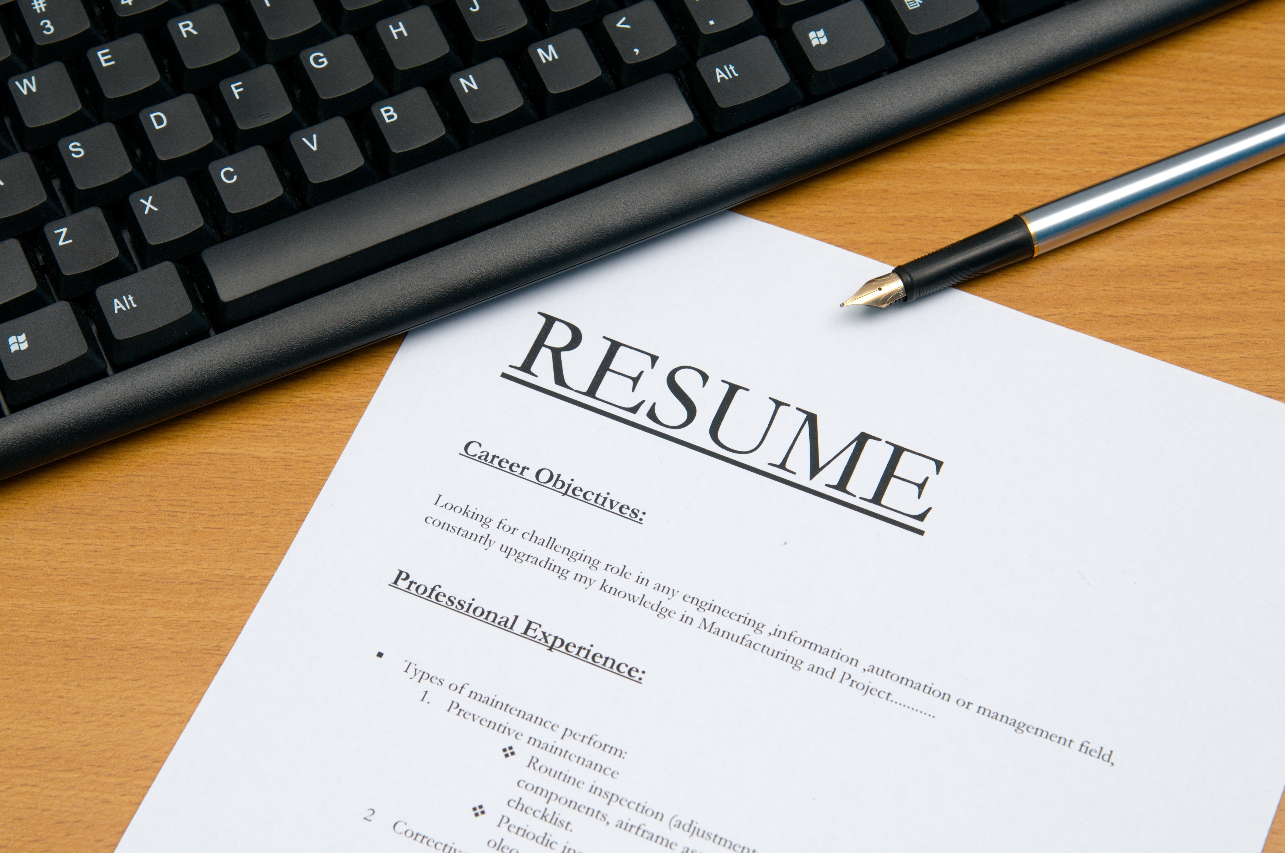How To Format Your Resume – Australian Style - Live Enhanced