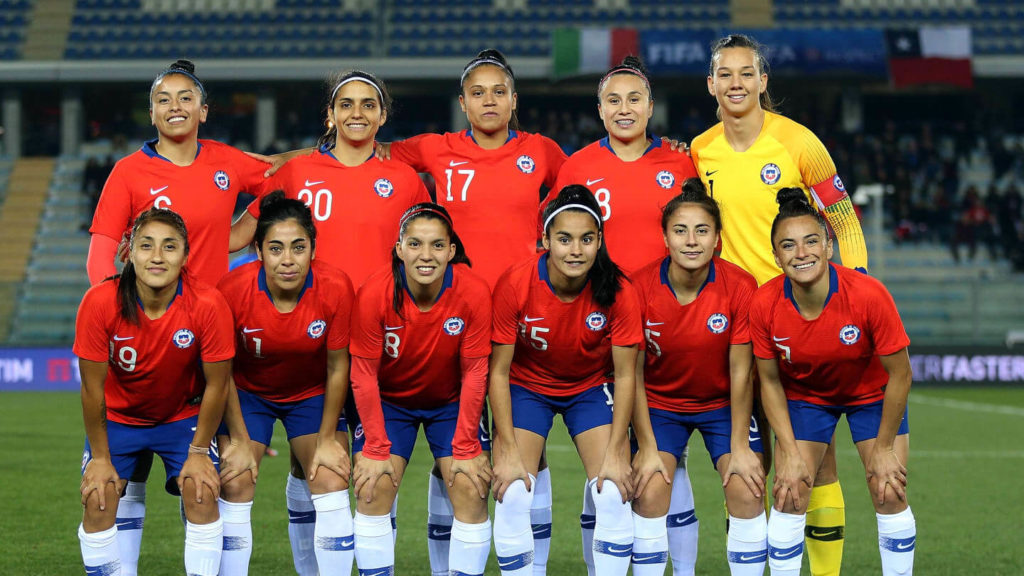 FIFA 2019 Women's World Cup Chile Team