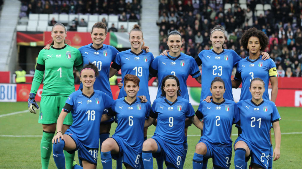 FIFA 2019 Women's World Cup Italy Team