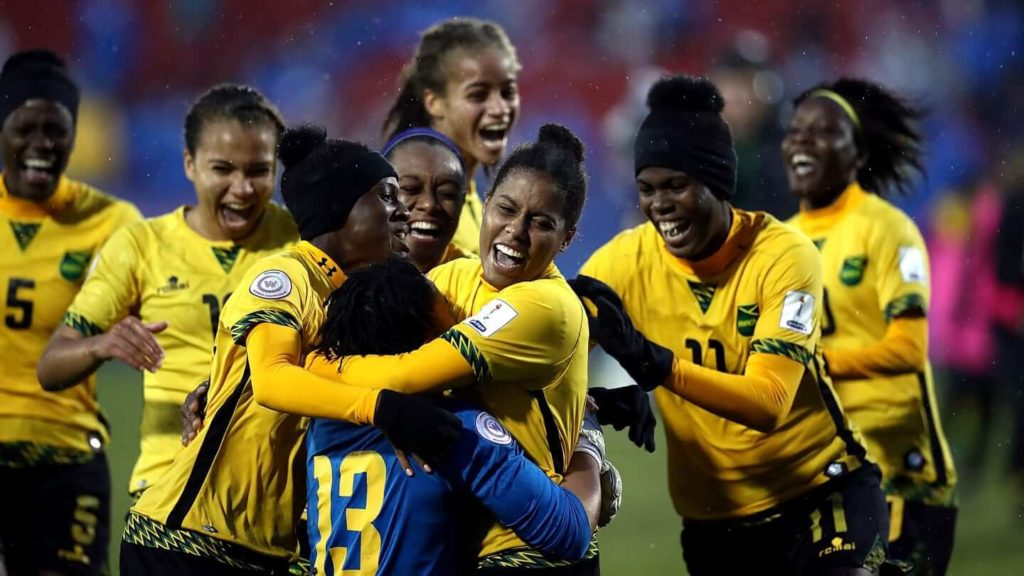 FIFA 2019 Women's World Cup Jamaica Team