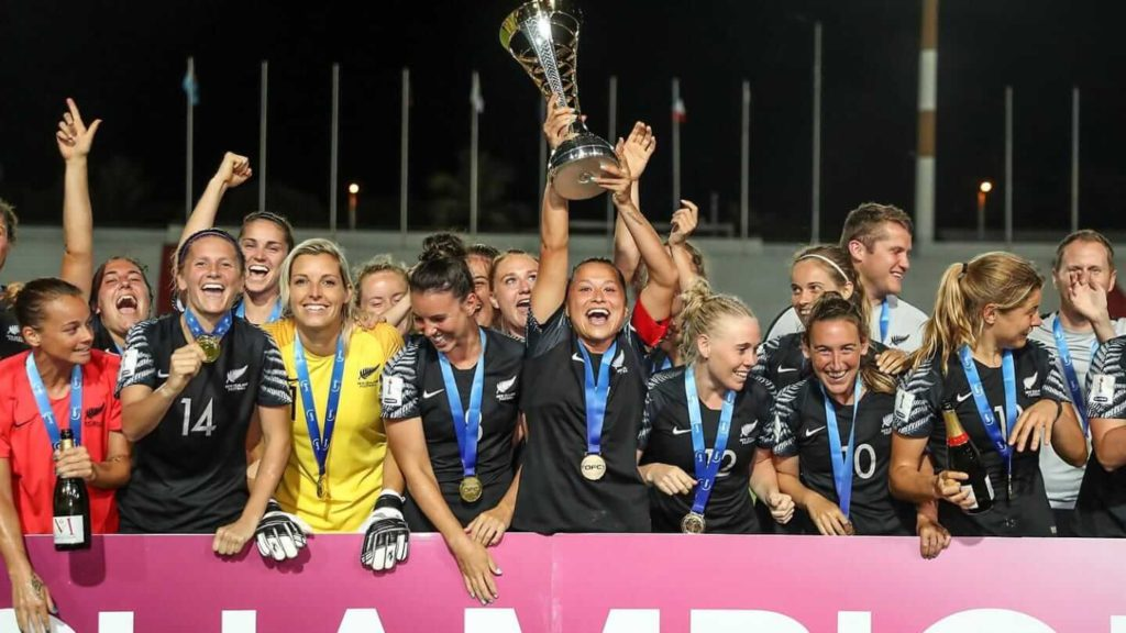 FIFA 2019 Women's World Cup New Zealand Team