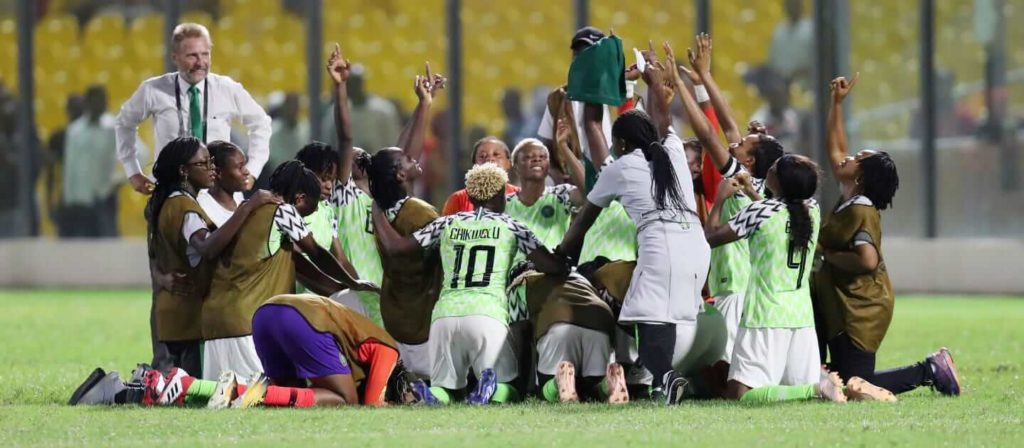 FIFA 2019 Women's World Cup Nigeria Team