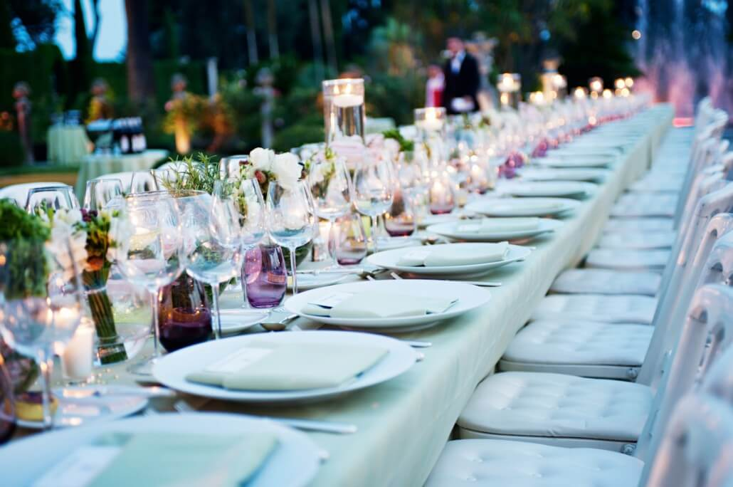 Outdoor Wedding Catering