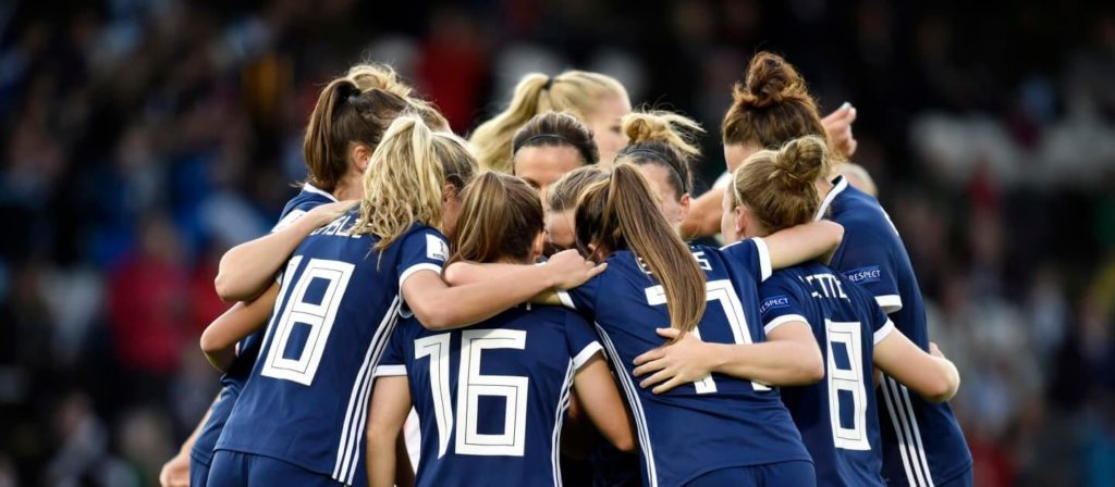 FIFA 2019 Women's World Cup Scotland Team
