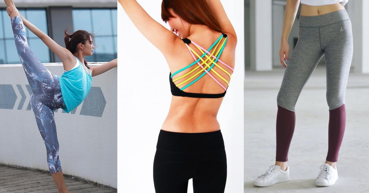 Wear the right clothes - Gym outfits