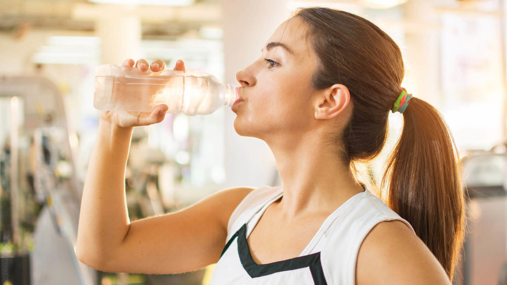 chronic neck pain - Drink Plenty of Water