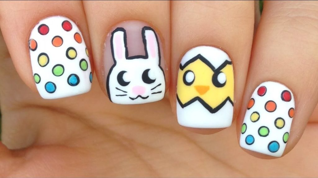 Easter Nail Art Designs