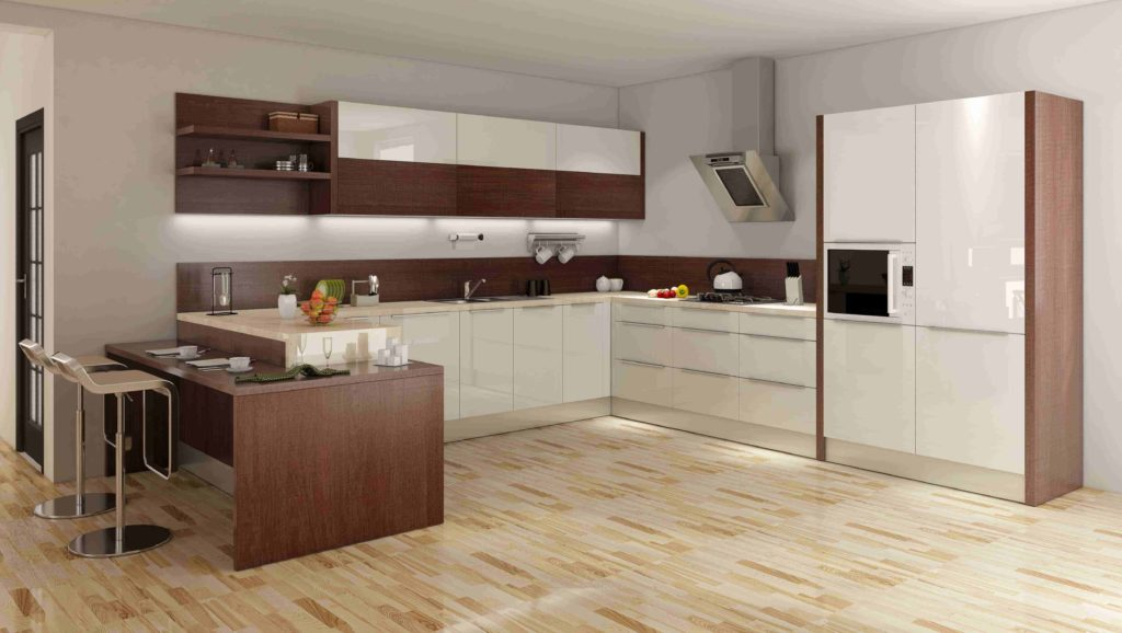 types of kitchen finishes - Laminate