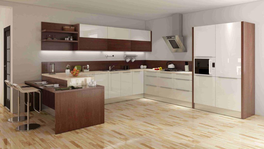 types of kitchen finishes - Laminate