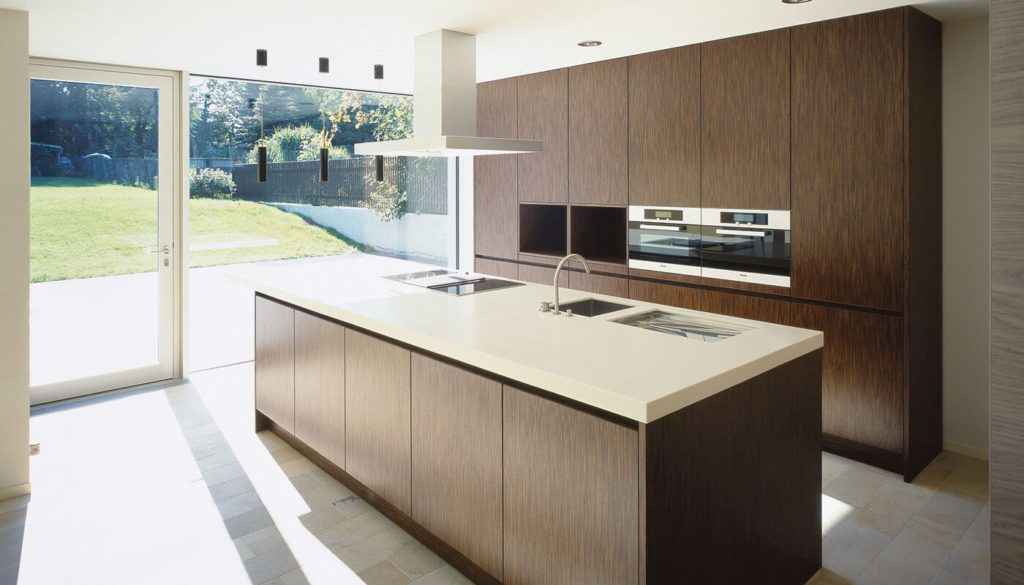 types of kitchen finishes - Wood Veneers