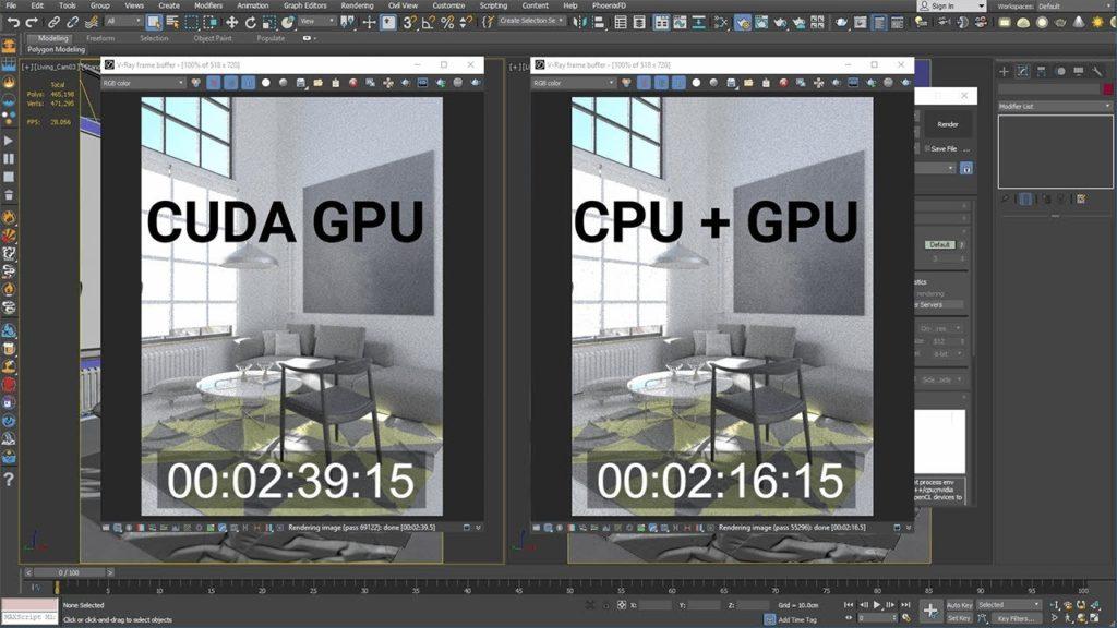 3D Rendering Techniques-CPUandGPUwork
