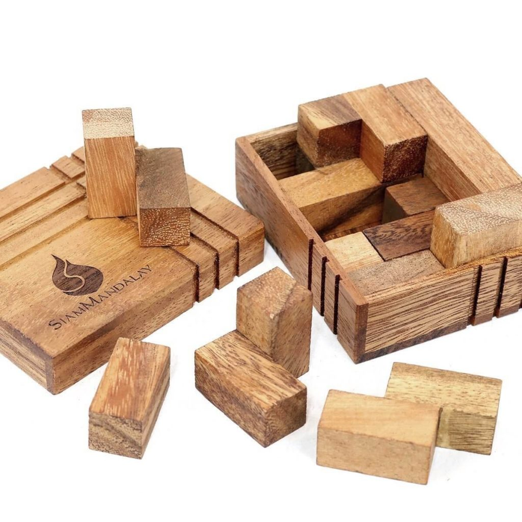 Brain Training Wooden Puzzles Increase Productivity - The Challenge Box