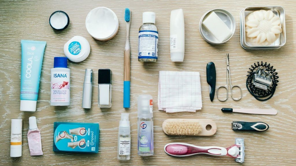 How to Plan Your Trip Packing List - The Toiletries