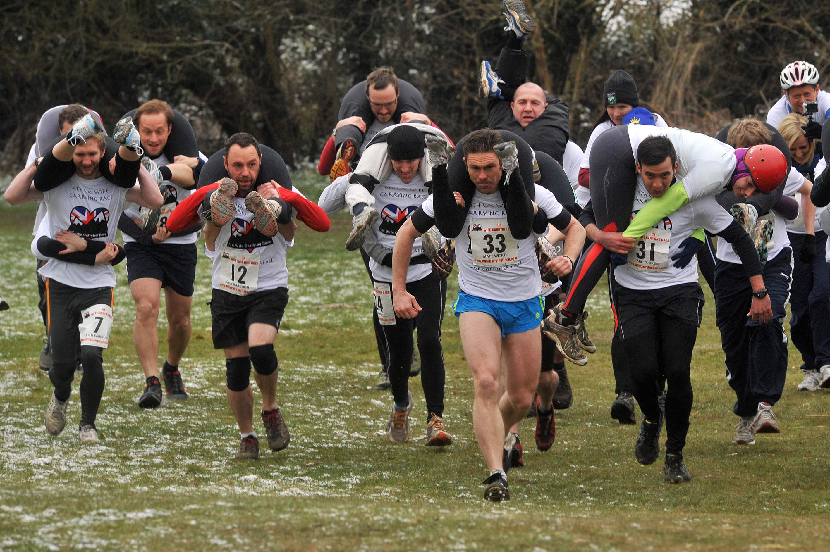 Wife Carrying game