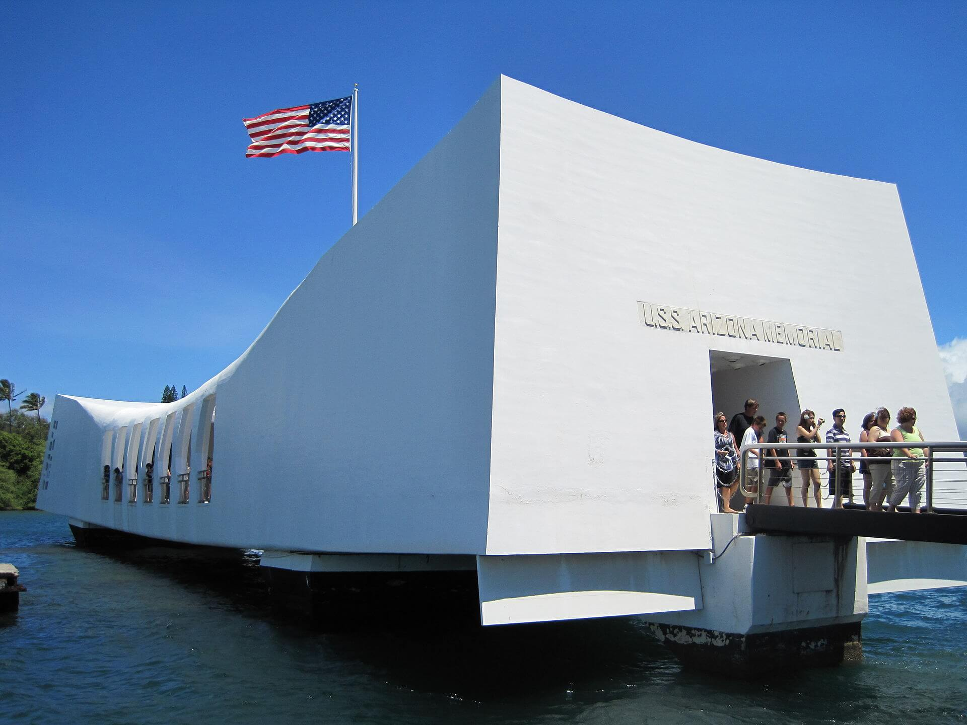 USS Arizona Memorial Oahu