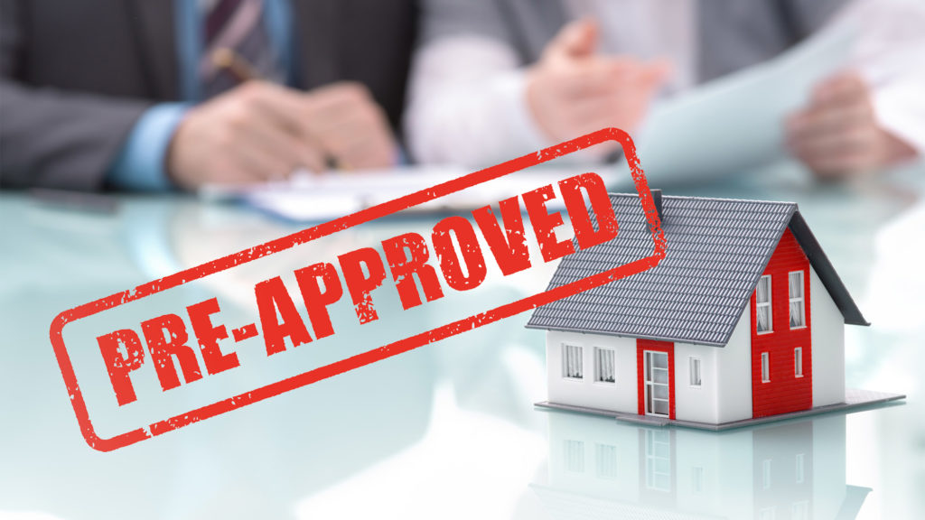 Pre-approved for Mortgage Loan