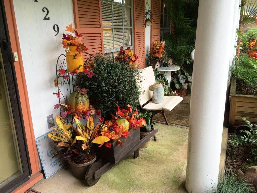 autumn Front Porch 11