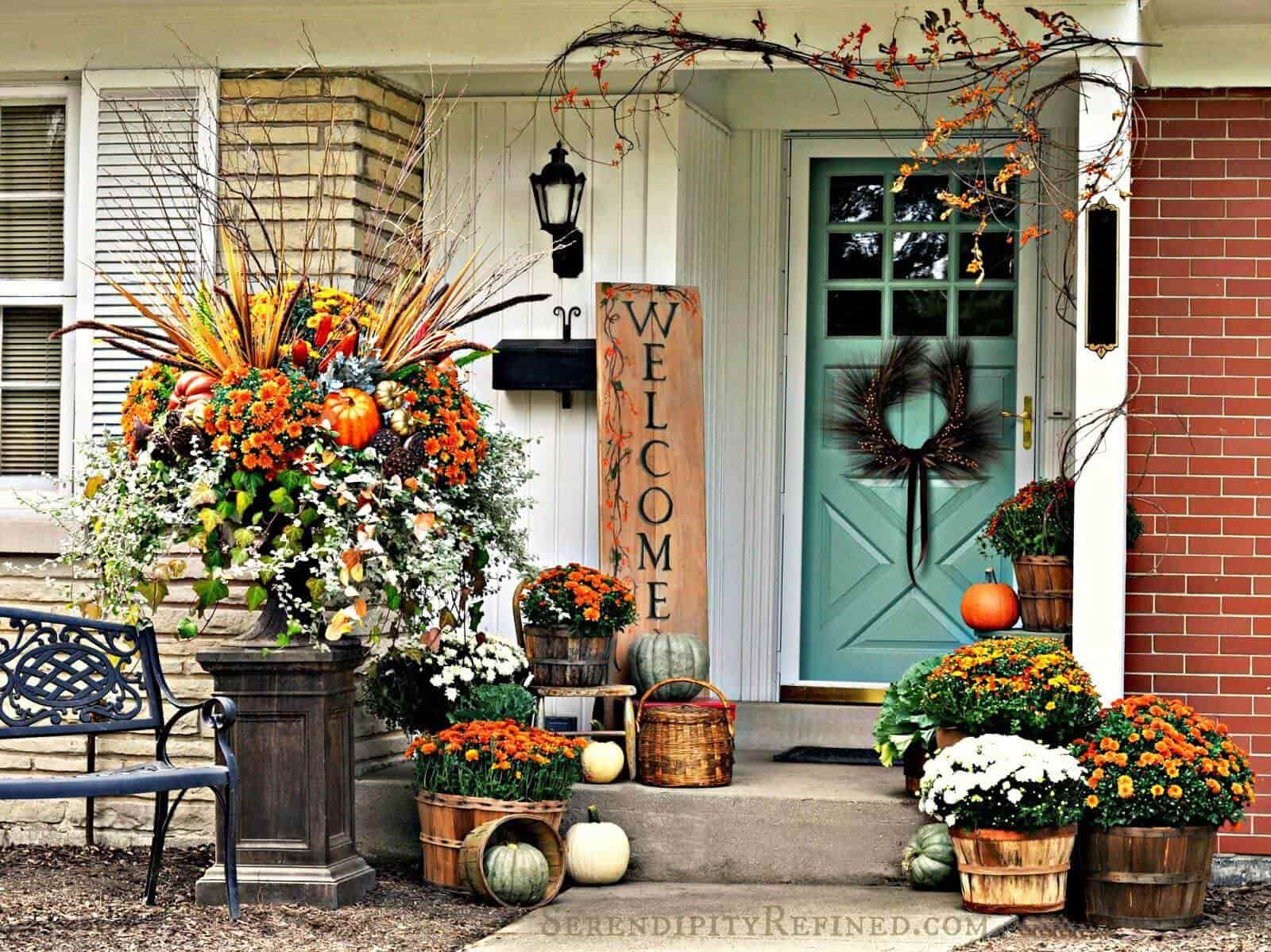 autumn Front Porch 13