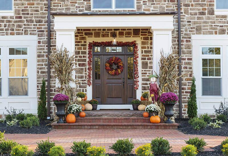 autumn Front Porch 15