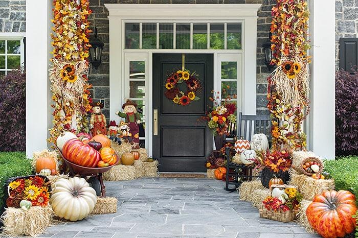 autumn Front Porch 16