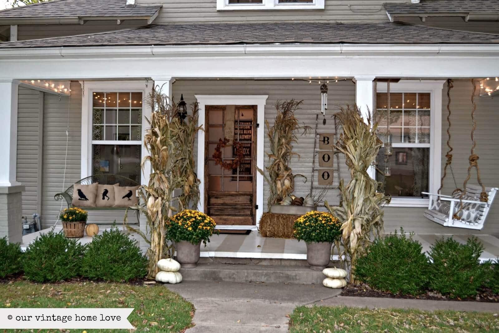 autumn Front Porch 17