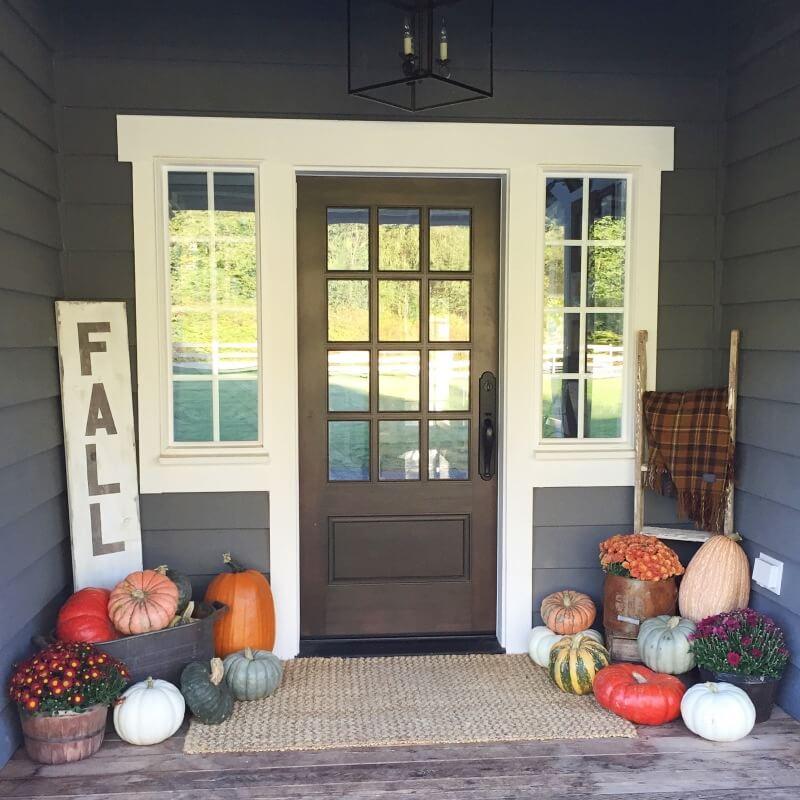 autumn Front Porch 19