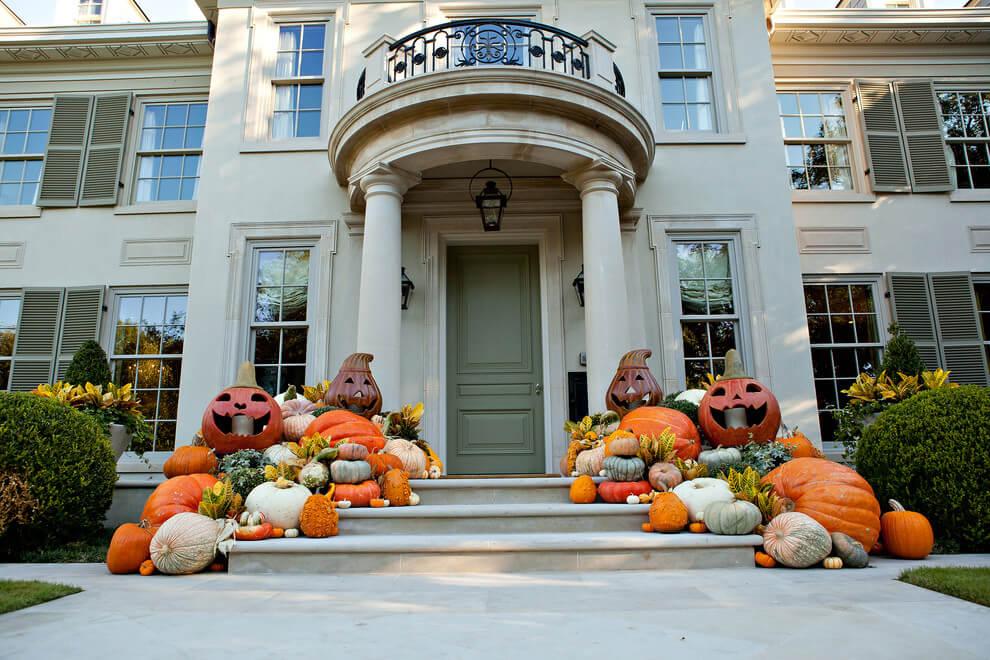 autumn Front Porch 20