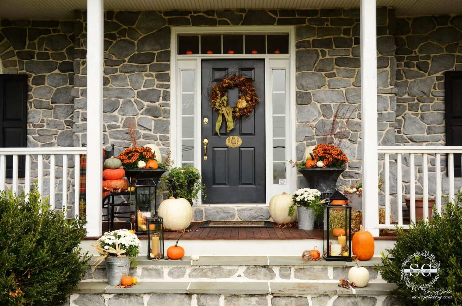 autumn Front Porch 3